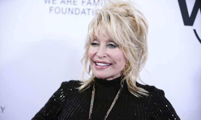 Dolly Parton attends We Are Family Foundation's event in honor of Dolly Parton & Jean Paul Gaultier, at Hammerstein Ballroom in New York City on Nov. 5, 2019. (John Lamparski/Getty Images)