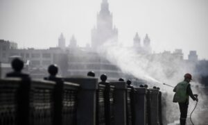 Russia to Close Borders as CCP Virus Cases Rise to 1,500