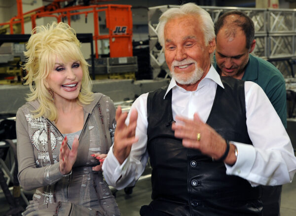 Singers/Songwriters Dolly Parton and Honoree Kenny Rogers