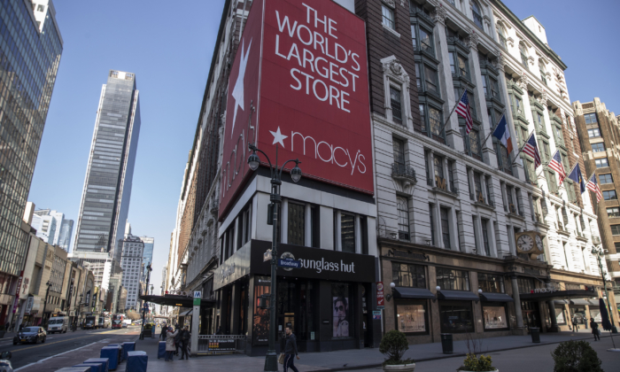 Macy's Furloughs Majority of Employees as Retailers Adjust to Pandemic