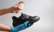 Leave Shoes Outside and Clean Them Well to Avoid Possible COVID-19 Transmission