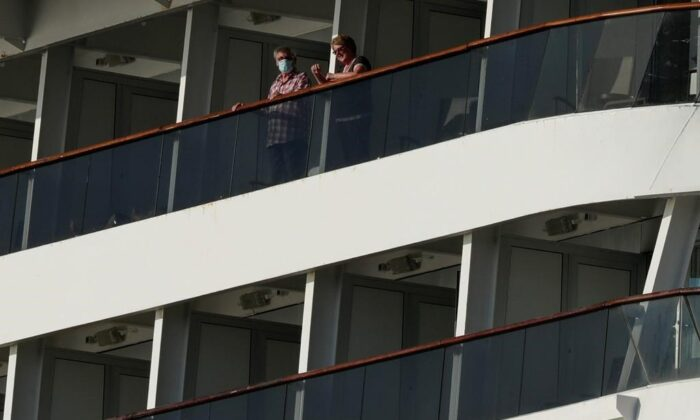 248 Canadians are on the move in two cruise ships after being stranded off the coast of Panama. (The Canadian Press)