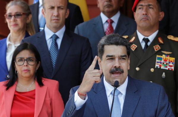 Venezuelan regime leader Nicolas Maduro