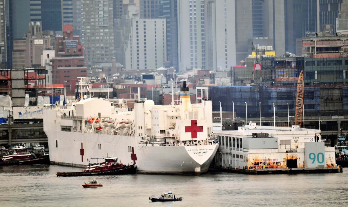 Navy Hospital Ship USNS Comfort