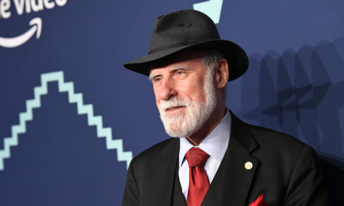Vint Cerf attends The 23rd Annual Webby Awards in New York City on May 13, 2019. (Noam Galai/Getty Images for Webby Awards)