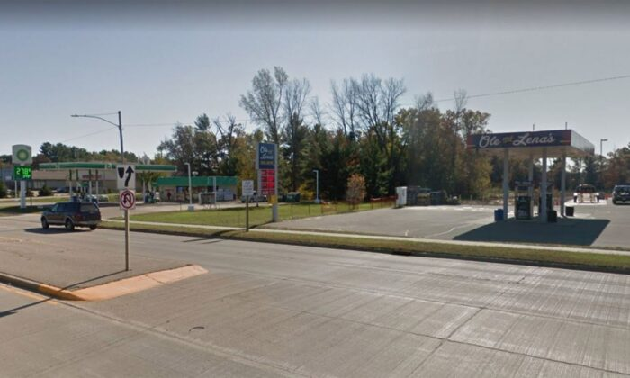 A user on GasBuddy reported the low price at an Ole and Lenas Fuel Depot in Wautoma, Wisconsin, making it possibly the cheapest gas in the country. (Google Maps)
