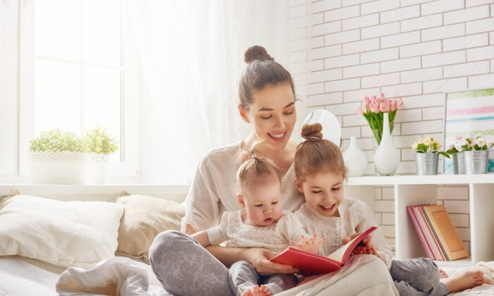 A neighbor beamed over the fact that she was getting to spend so much time at home with her children. (Von Yuganov Konstantin/Shutterstock)