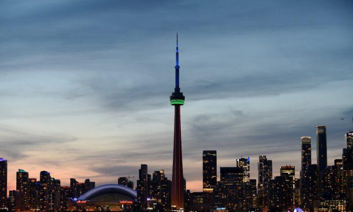 The city of Toronto, Canada, on July 16, 2015. (Hector Retamal/AFP via Getty Images)