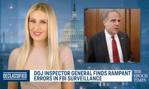 DOJ Inspector General Finds Rampant Errors in FBI Surveillance