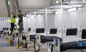 London Field Hospital on Standby: Health Secretary