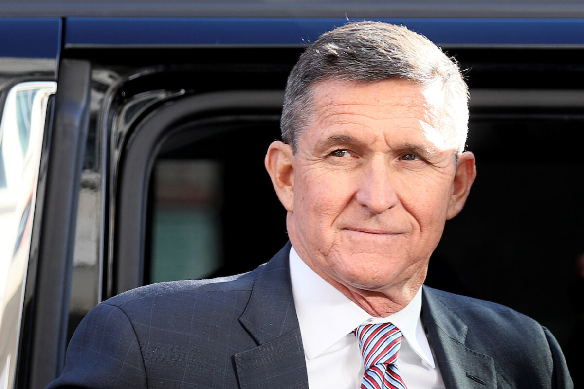 Former national security adviser Flynn