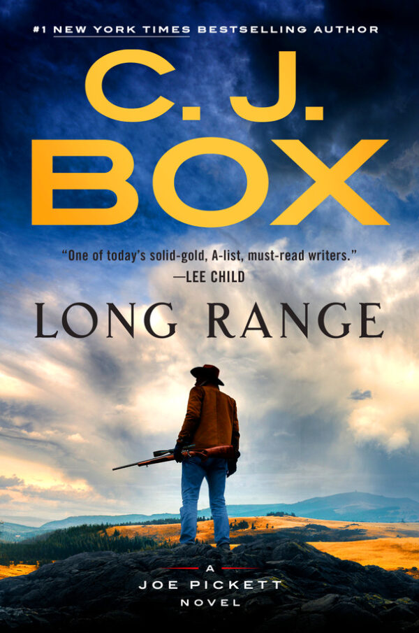 book cover for Long Range by C.J. Box
