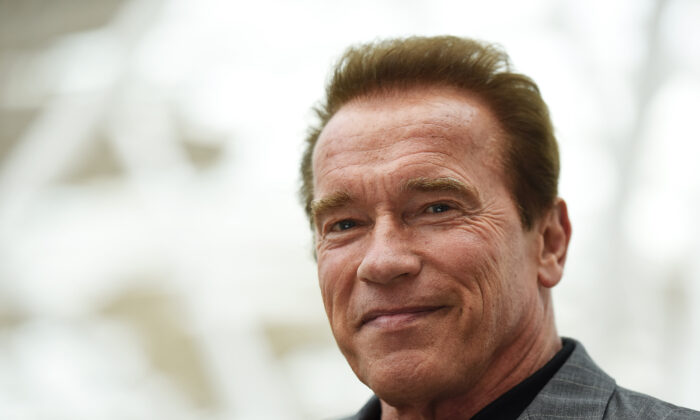 Arnold Schwarzenegger attends the Fan Footage Event of 'Terminator Genisys' at Vue Westfield in London, England, on June 17, 2015.  (Ben A. Pruchnie/File/Getty Images for Paramount Pictures International)
