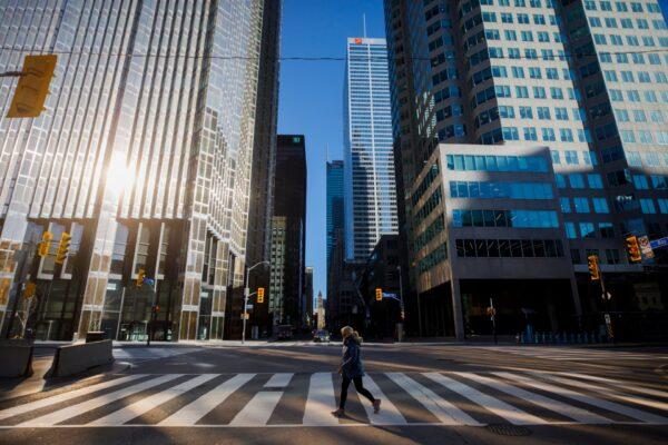 Toronto--Coronavirus Shutdown