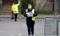UK CCP Virus Death Toll Rises 24 Percent in a Single Day
