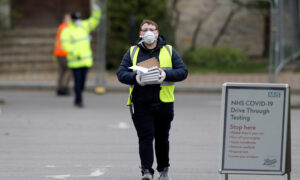 UK CCP Virus Death Toll Rises 24 Percent in a Single Day