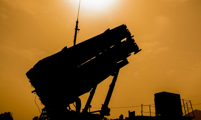 A US Patriot missile defense system in a file photograph. (Jack Guez/AFP via Getty Images)