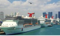 Dozen Cruise Ships Are Still Scrambling for Safe Harbor