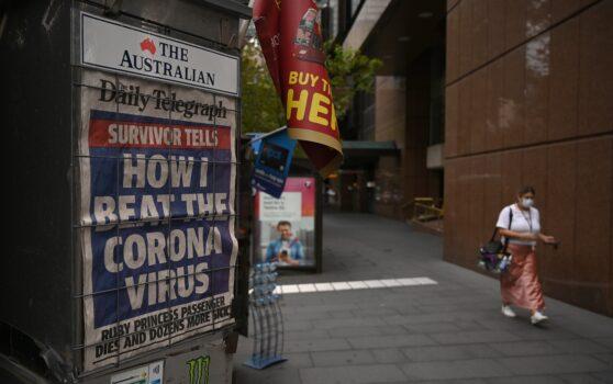 AUSTRALIA-HEALTH-VIRUS