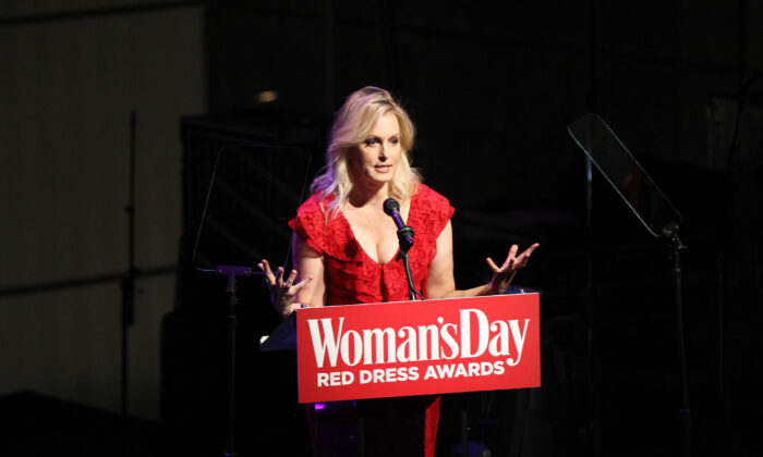 Ali Wentworth speaks onstage as Woman's Day Celebrates 16th Annual Red Dress Awards in New York City on Feb. 12, 2019. (Bennett Raglin/Getty Images for Woman's Day)
