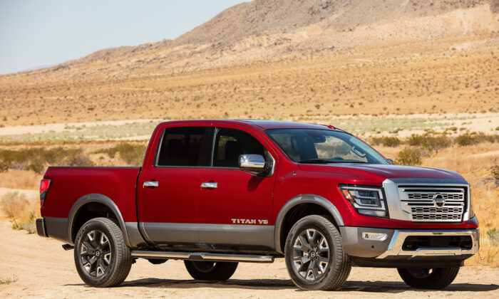 2020 Nissan Titan Platinum Reserve. (Courtesy of Nissan Newsroom)