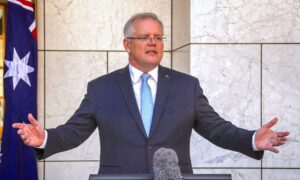 Australia's CCP Virus Testing Rate Best in World: PM Scott Morrison