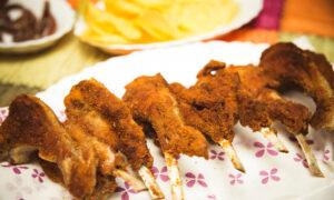 Fried Lamb Chops