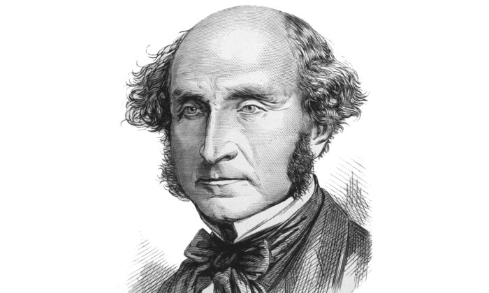 English philosopher, politician, and social reformer, John Stuart Mill (1806–1873), circa 1860. (Hulton Archive/Getty Images)