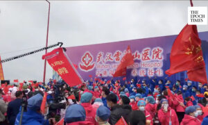 CCP Holds Victory Celebration at Wuhan Field Hospital