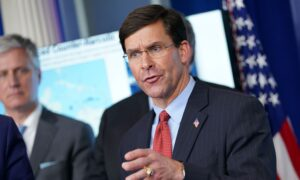 Pentagon Has Deployed Many Ventilators From Department of Defense Stockpile: Esper