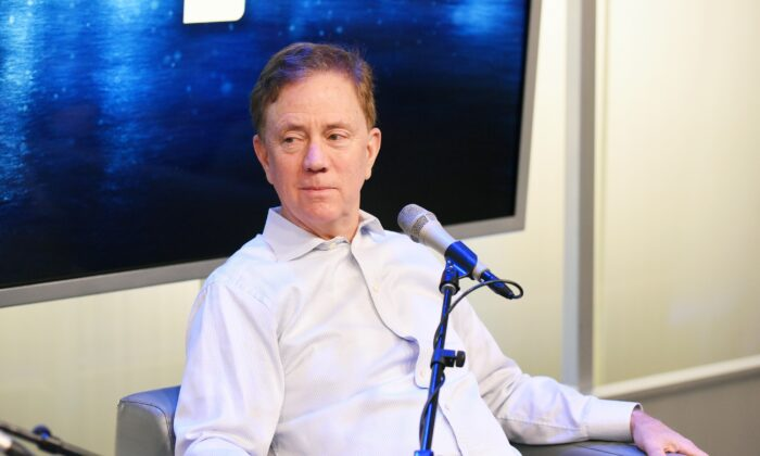 Connecticut Gov. Ned Lamont speaks during SiriusXM Business Radio's 'Making A Leader' Series at SiriusXM Studios in New York City on Dec. 20, 2019. (Bonnie Biess/Getty Images for SiriusXM)
