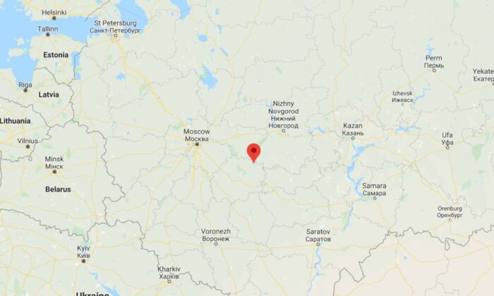 A man was arrested in Russia on suspicion of shooting and killing five people for talking too loud  (Google Maps)