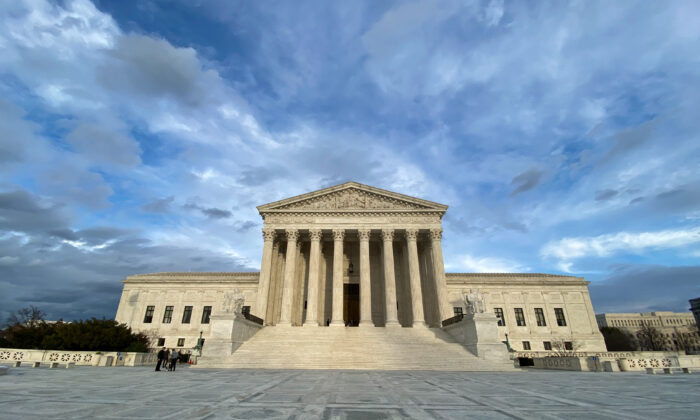 The Supreme Court in Washington on March 10, 2020. (Jan Jekielek/The Epoch Times)