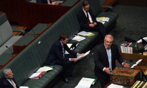 Australian Parliament Meets to Pass $130B Wage Scheme
