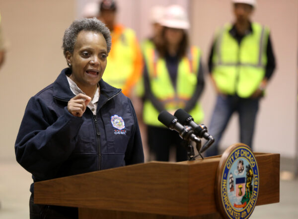 Chicago mayor Lori Lightfoot
