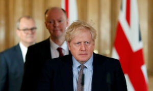 Boris Johnson Stable, Responding to Virus Treatment: Downing Street