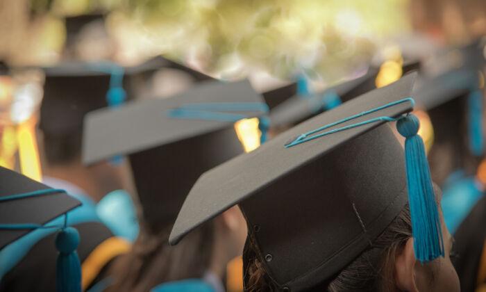 High School graduates at a graduation ceremony in a file photo. (Shutterstock)