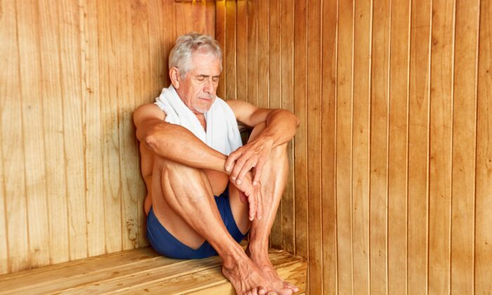 A study showed that people who regularly used saunas had half the incidence of the common cold than the non-sauna users. (Robert Kneschke/Shutterstock)