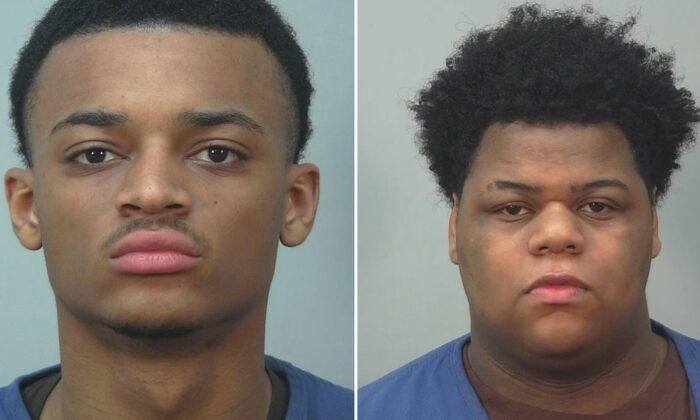 Ali'jah Larrue and Khari Sanford are both charged with two counts of party to the crime of first-degree intentional homicide. (Dane County Sheriff's Office)