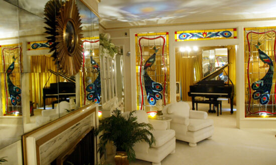 A Glimpse Inside Graceland, the King Elvis Presley's Iconic, and Eccentric, Mansion in Memphis