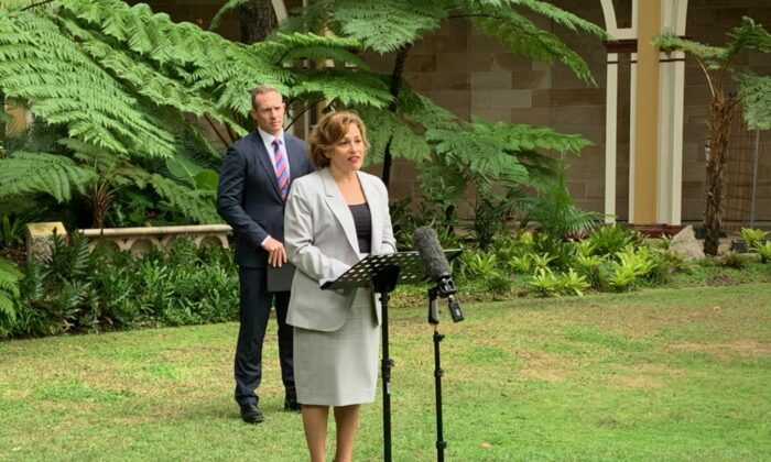 Queensland Deputy Premiere Jackie Trad. (Rosie Gilbet/Queensland Government)