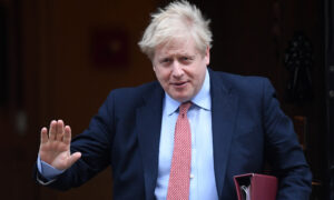 UK Prime Minister Johnson 'Getting Better' in Intensive Care