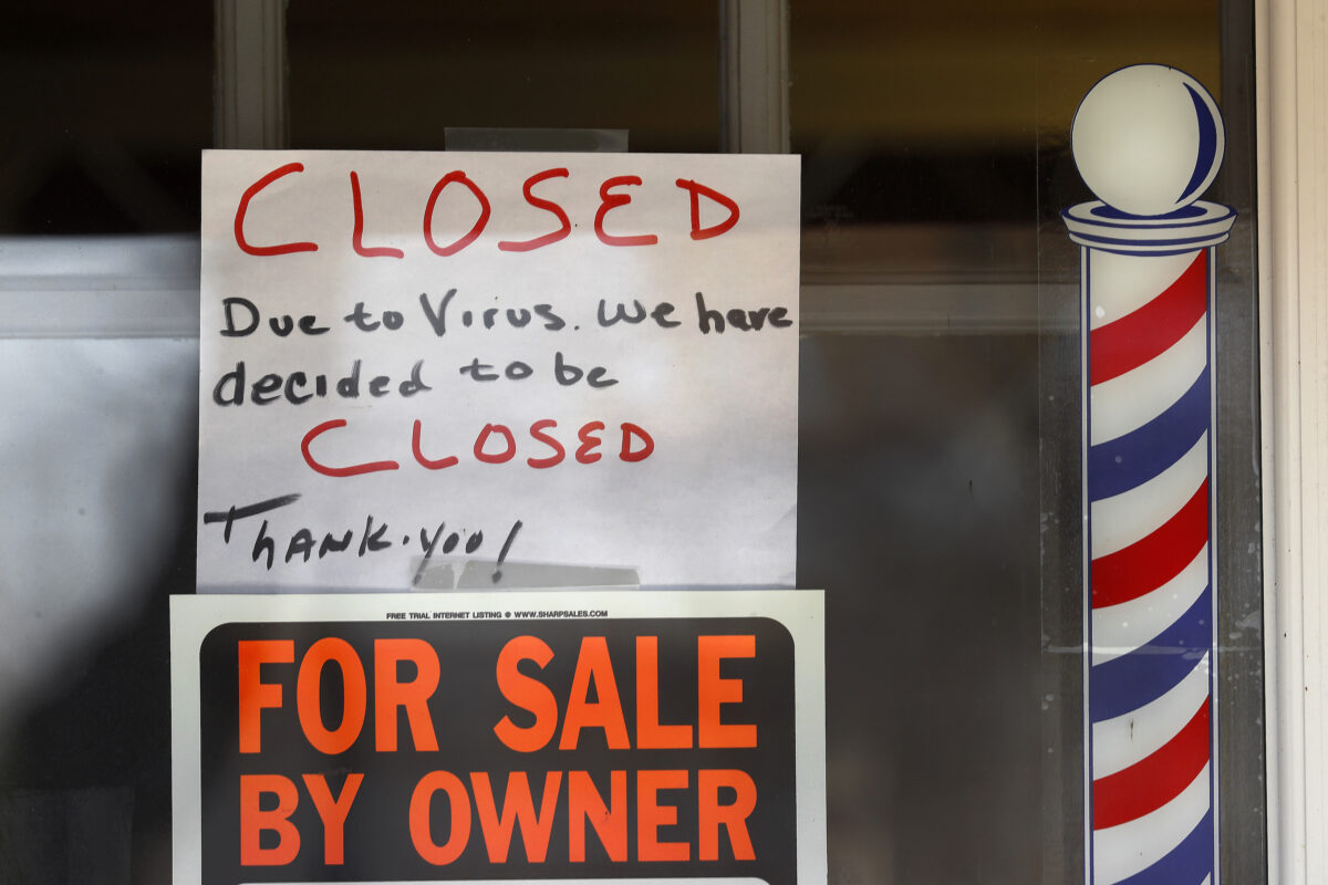 """""""For Sale By Owner"""" and """"Closed Due to Virus"""""""