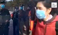 Police Confront Railroad Employees Demanding Health Care Benefits in Harbin