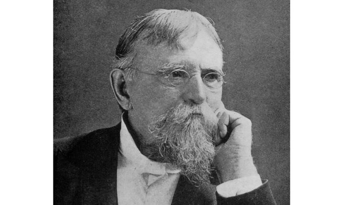 """Lew Wallace (1827–1905), a Union General in the American Civil War, and author of the book """"Ben-Hur: A Tale of the Christ,"""" circa 1890. (Hulton Archive/Getty Images)"""