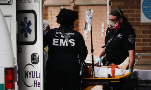 New York Reports Negative Number of ICU Admissions for First Time Since Pandemic Started