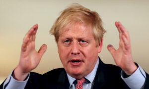 British PM Johnson Discharged From Hospital After CCP Virus Treatment