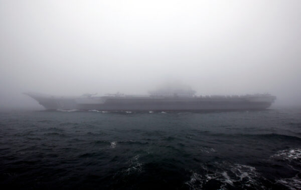 Chinese Navy's Aircraft carrier Liaoning