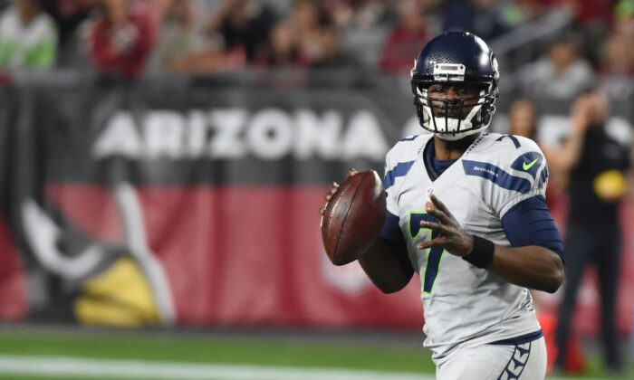 Tarvaris Jackson in a file photo. (Norm Hall/Getty Images)