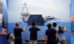 Taiwan Says Chinese Carrier Group Drills Close to Island